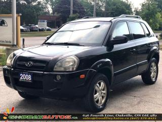 Used 2008 Hyundai Tucson GL|LOW KM|NO ACCIDENT|LEATHER|SUNROOF|CERTIFIED for sale in Oakville, ON