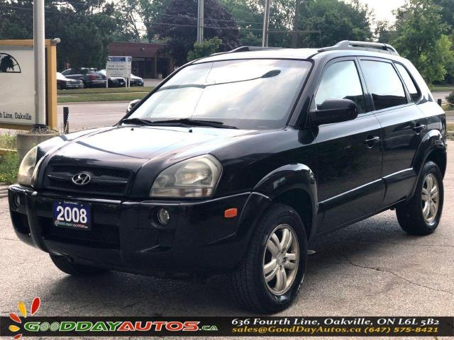 2008 Hyundai Tucson GL|LOW KM|NO ACCIDENT|LEATHER|SUNROOF|CERTIFIED