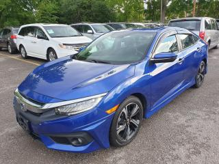 Used 2018 Honda Civic Touring for sale in Brampton, ON