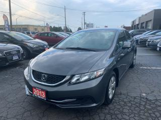 Used 2013 Honda Civic LX for sale in Hamilton, ON