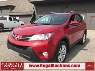 Used 2013 Toyota RAV4 Limited 4D Utility AWD 2.5L for sale in Calgary, AB