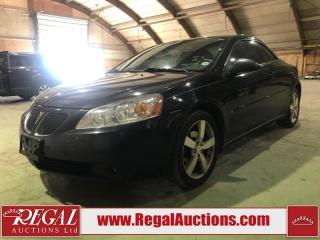 Used 2006 Pontiac G6 GTP 2D CONVERTIBLE for sale in Calgary, AB