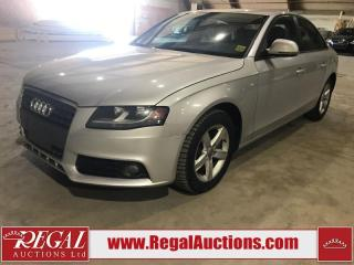 Used 2009 Audi A4 4D Sedan Qtro 2.0T AWD for sale in Calgary, AB