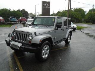 Used 2013 Jeep Wrangler Unlimited Sahara for sale in Ottawa, ON