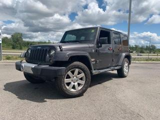 Used 2014 Jeep Wrangler Unlimited Sahara for sale in Ottawa, ON