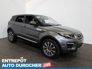 Used 2017 Land Rover Evoque HSE AWD NAVIGATION - Toit Vitré - A/C - CUIR for sale in Laval, QC