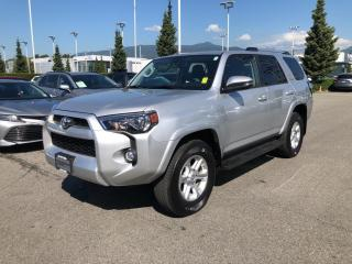 Used 2019 Toyota 4Runner SR5 Local, No Accidents, Certified! for sale in North Vancouver, BC