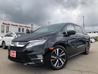 Used 2018 Honda Odyssey Touring Navi - Leather - sunroof - Alloy for sale in Mississauga, ON