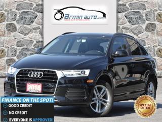 Used 2016 Audi Q3 2.0T QUATTRO Technik | NAV | PANO ROOF | LED | for sale in Etobicoke, ON