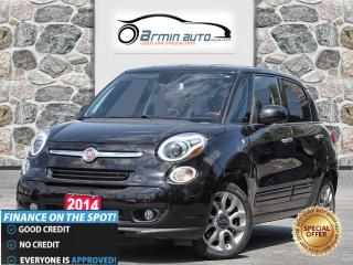 Used 2014 Fiat 500 L Sport | LED LIGHTS | HEATED SEATS | ALLOY WHEELS | for sale in Etobicoke, ON