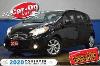Used 2014 Nissan Versa Note 1.6 SL NAV REAR CAM HTD SEATS BLUETOOTH ALLOYS for sale in Ottawa, ON