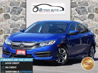 Used 2018 Honda Civic Sedan LX CVT | CAMERA | HEATED SEATS | LED LIGHTS | for sale in Etobicoke, ON