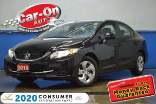 Used 2015 Honda Civic AUTO A/C REAR CAM HTD SEATS BLUETOOTH for sale in Ottawa, ON