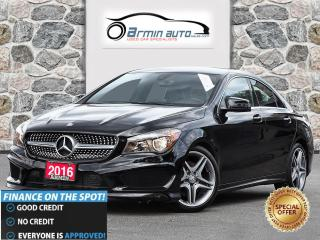 Used 2016 Mercedes-Benz CLA-Class CLA 250 4MATIC | SPORT PKG | NAV | BLINDSPOT | CAM for sale in Etobicoke, ON