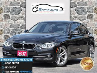 Used 2017 BMW 3 Series 320i xDrive | SPORT PKG | NAV | RED LEATHER | for sale in Etobicoke, ON