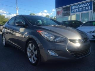 Used 2013 Hyundai Elantra Limited - Navigation - Bluetooth - Sunroof for sale in Cornwall, ON