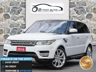 Used 2016 Land Rover Range Rover Sport Td6 HSE | HUD | BLINDSPOT | COOLED SEATS | SC DOOR for sale in Etobicoke, ON