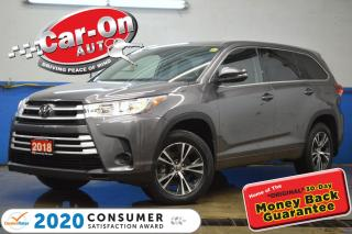 Used 2018 Toyota Highlander LE 8 Seater AWD REAR CAM ADAPTIVE CRUISE LOADED for sale in Ottawa, ON