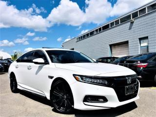 Used 2018 Honda Accord Sedan TOURING|HUD|ADAPTIVE CRUISE|SUNROOF|LANE ASIST|VENT SEATS! for sale in Brampton, ON