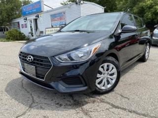 Used 2020 Hyundai Accent 5 Door UNDER FACTORY WARRANTY !BAck up cam!  ACCIDENT FREE for sale in Brampton, ON