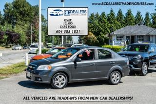Used 2010 Chevrolet Aveo LT Sedan, Local, No Declarations, 125k, Sunroof, Loaded! for sale in Surrey, BC