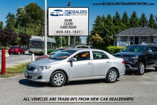 Used 2009 Toyota Corolla Local and No Accidents, Affordable, Fuel Efficient, Auto! for sale in Surrey, BC
