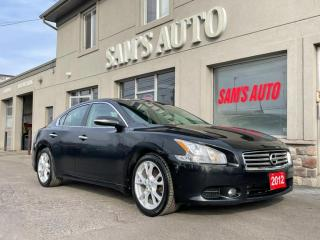 Used 2012 Nissan Maxima 4dr Sdn CVT 3.5 SV for sale in Hamilton, ON