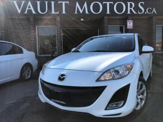 Used 2010 Mazda MAZDA3 4dr Sdn 1 YEAR ENGINE/TRANSMISSION WARRANTY INCLUDED for sale in Brampton, ON