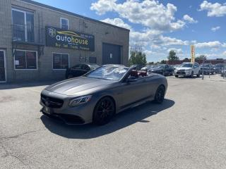 Used 2017 Mercedes-Benz S-Class 2dr Cabriolet AMG S63 4MATIC for sale in Newmarket, ON