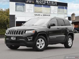Used 2014 Jeep Grand Cherokee Laredo 4X4 *Accident Free, Bluetooth, Smart Entry* for sale in Scarborough, ON