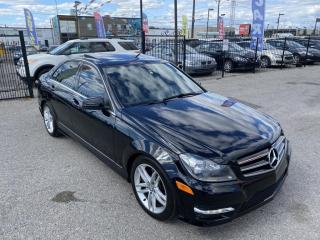 Used 2014 Mercedes-Benz C-Class C300 4MATIC moonroof, heated seats, super clean for sale in Scarborough, ON