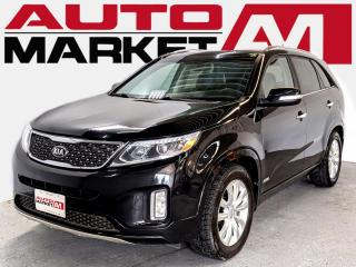 Used 2014 Kia Sorento SX AWD CERTIFIED,Leather,WE APPROVE ALL CREDIT for sale in Guelph, ON