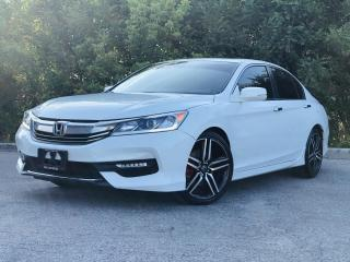 Used 2016 Honda Accord Sport w/Honda Sensing|TEXT.US|647.678.7778| for sale in Mississauga, ON