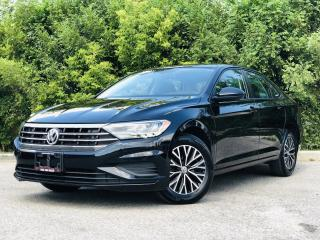 Used 2019 Volkswagen Jetta HIGHLINE|TEXT.US|647.678.7778| LEATHER|SUNROOF|REARVIEW|ALLOYS|CLEAN CARFAX| for sale in Mississauga, ON