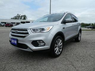 Used 2018 Ford Escape Titanium | Navigation | Remote Start | Heated Seats for sale in Essex, ON