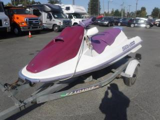 Used 1993 Bombardier Gtx Sea Doo with Trailer for sale in Burnaby, BC