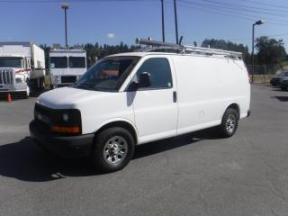 Used 2014 Chevrolet Express 1500 Cargo With Rear Shelving And Ladder Rack for sale in Burnaby, BC
