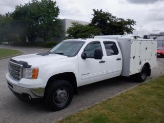 Used 2014 GMC Sierra 3500 HD Service Truck Crew Cab 4WD Diesel for sale in Burnaby, BC