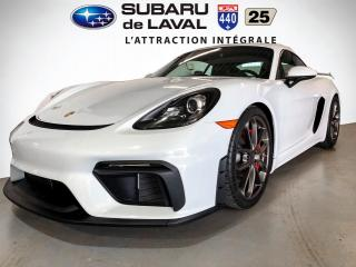 Used 2020 Porsche 718 Cayman GT4 coupé for sale in Laval, QC