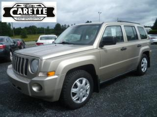 Used 2009 Jeep Patriot 4x4 for sale in East broughton, QC
