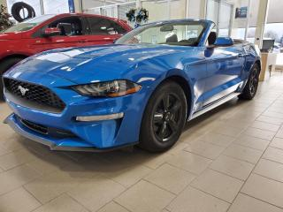 Used 2019 Ford Mustang CONVERTIBLE, ENS. SPORT,  ECOBOOST,  BAS for sale in Vallée-Jonction, QC