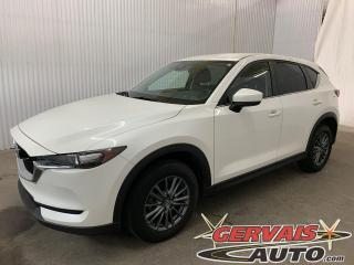 Used 2017 Mazda CX-5 GS AWD CUIR/TISSUS GPS CAMÉRA MAGS for sale in Trois-Rivières, QC