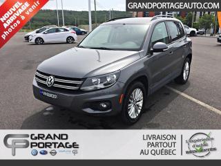 Used 2016 Volkswagen Tiguan Édition spéciale 4 portes 4MOTION BA for sale in Rivière-Du-Loup, QC