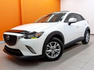 Used 2016 Mazda CX-3 GS CUIR *TOIT OUVRANT* SIEGES CHAUF *CAMERA* PROMO for sale in St-Jérôme, QC