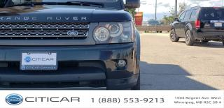 Used 2010 Land Rover Range Rover Sport 2010 Land Rover Range Rover Sport SC*4WD*Nav*Cam for sale in Winnipeg, MB