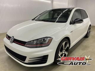 Used 2017 Volkswagen Golf GTI Autobahn GPS Fender Cuir Toit Ouvrant MAGS for sale in Shawinigan, QC