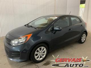 Used 2016 Kia Rio LX+ AUTOMATIQUE BLUETOOTH A/C *Transmission Automatique* for sale in Trois-Rivières, QC