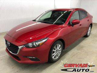 Used 2017 Mazda MAZDA3 SE CUIR GPS MAGS CAMÉRA BLUETOOTH *Transmission Automatique* for sale in Shawinigan, QC