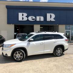 Used 2016 Toyota Highlander XLE for sale in Steinbach, MB