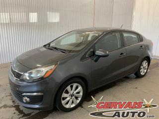 Used 2016 Kia Rio EX MAGS CAMERA DE RECUL A/C Sieges chauffants *Transmission Automatique* for sale in Trois-Rivières, QC